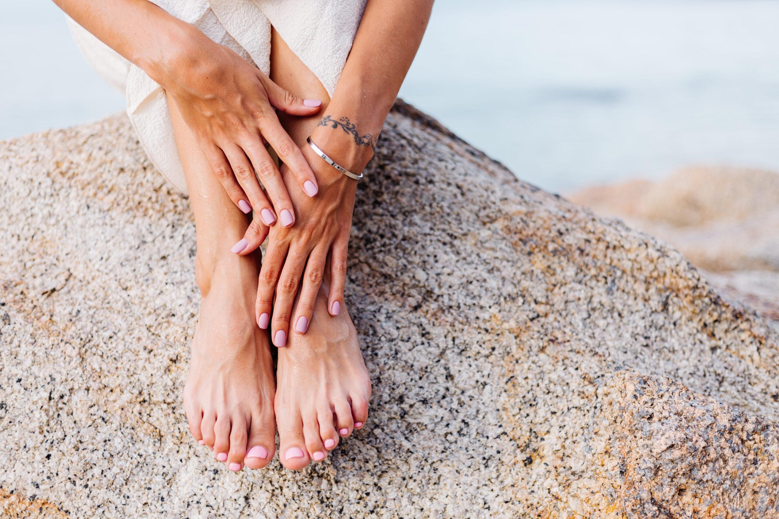 девушка ногти маникюр педикюр обучение